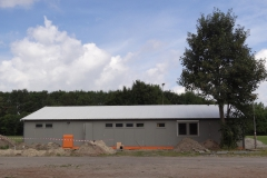 Nieuw clubgebouw